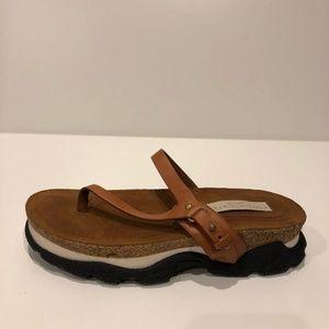 Stella McCartney New Leather Slide Sandals